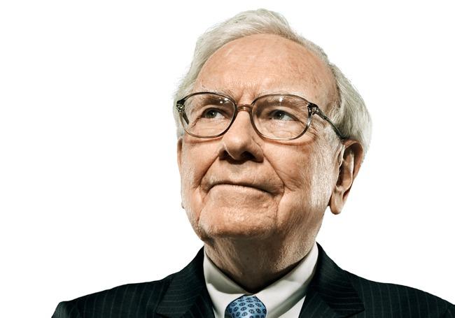 Head shot of Warren Buffet